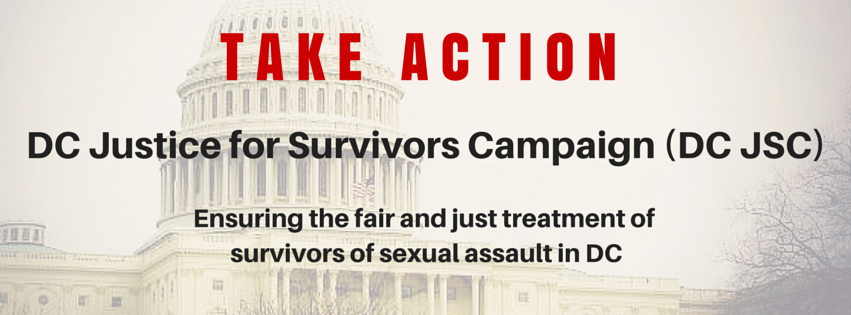 TAKE ACTION: Tell Mayor-Elect Bowser to Prevent Sexual Assault in DC!