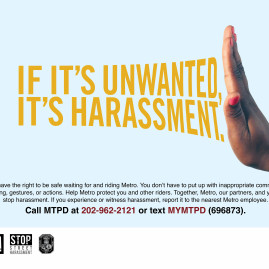 WMATA Anti-Harassment Campaign