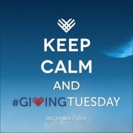 Hello, It's Me: I Was Wondering How You Want to Be Part of #GivingTuesday?
