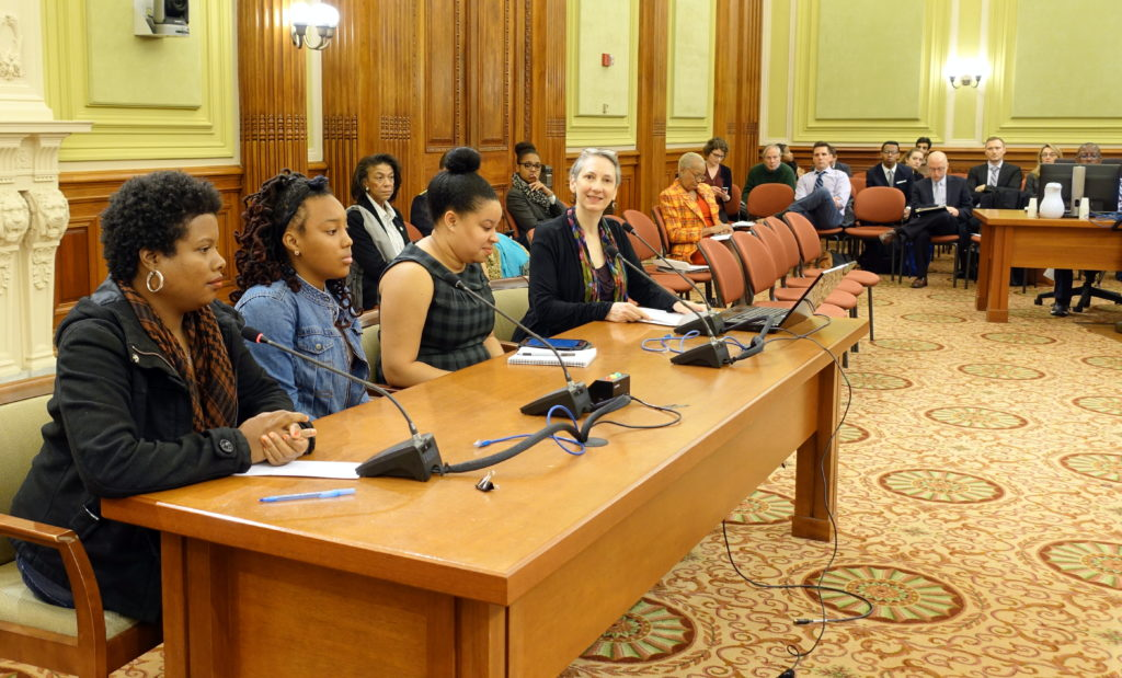 Photo from the DC City Council Roundtable via Stop Street Harassment.