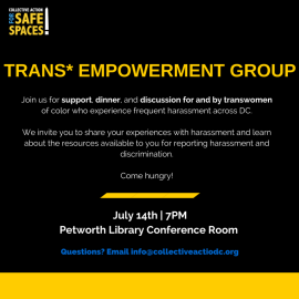 Empowering DC's Transwomen of Color