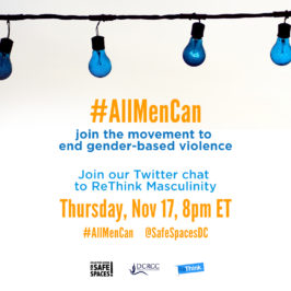 #AllMenCan Support the Movement to End Gender-based Violence